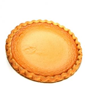 American Persimmon Pie