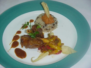 Nalli Gosht with jalfrezi ,lentil rice and tomato chutney