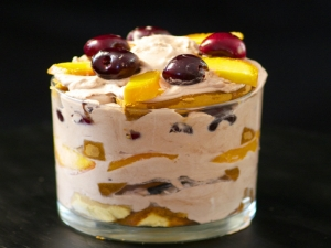 Stemilt Cherry & Chocolate Layer Cake