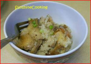 Solar Cooked Malaysian Clay Pot Chicken and Rice