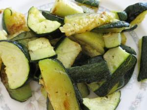 Zesty Pan Seared Zucchini With Lemon Caper Sauce