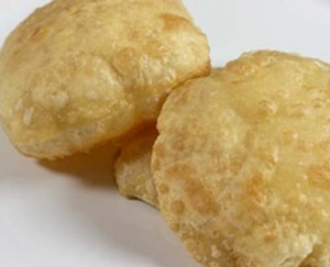 Fried Wheat Poori