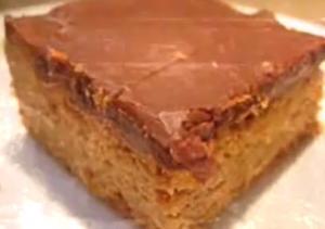 Chocolaty Peanut Butter Squares