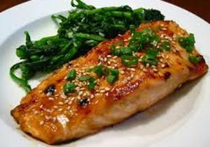 Asian-Style Pan Seared Soy Salmon