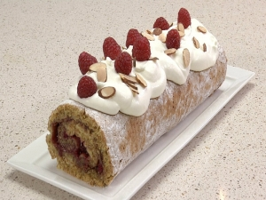 How to Roll a Roulade Cake