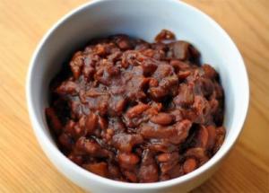 Fruited Lentil Bean pot
