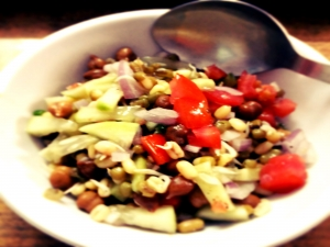 Low Fat - Low Calorie Sprout Salad