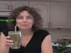 Cucumber Chard Green Smoothie