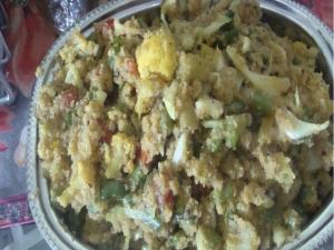 Healthy Vegetable Semolina Porridge