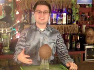 How to Drink Out of A Coconut