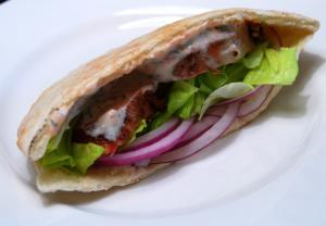 Lean Pork Pitas