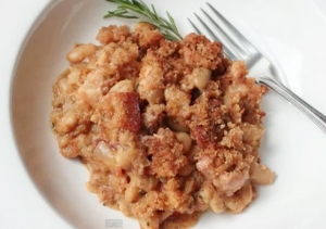 Classic French Pork and Bean Casserole
