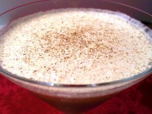 Eggnog Fizz Martini