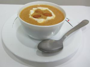 Creamy Carrot and Almond Soup