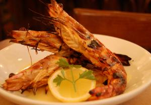 Island Pan Barbecued Shrimp