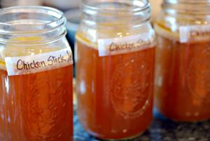 Store Chicken stock for instant use!