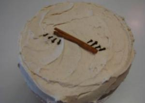 Spicy and Ambrosial Butter Cream Frosting
