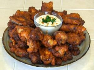 SmokingPit.com - Mad Hunky Italian Hot Wings Slow Cooked on the Yoder YS640 Pellet Smoker