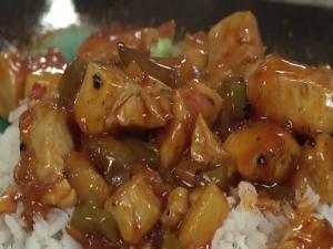 Sweet And Sour Chicken With Cocobon Wine
