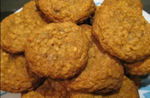 Oatmeal and Chocolate Chip Tea time cookie