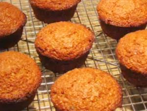 Molasses And Raisin Bran Muffins