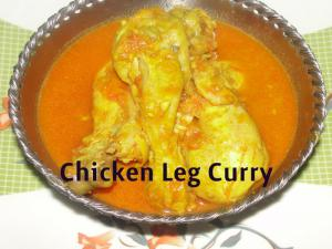 Homemade Chicken Leg Curry