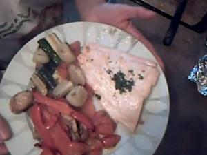 Once a Week Kitchen - How to Cook Salmon with Roasted Vegetables