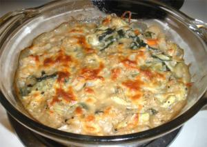 Spinach Artichoke Casserole
