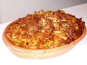 Baked Macaroni With Meat