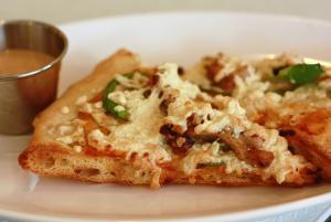 Breakfast Cheese Pizza