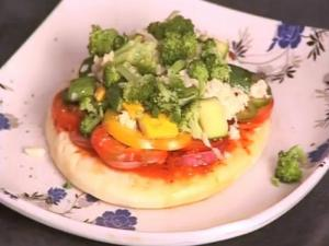 Pizza - Crunchy Veg Pizza