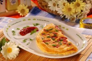Chinese Ham Omelette