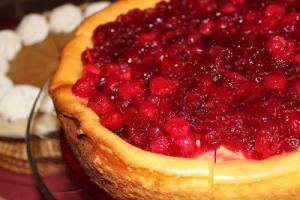 Cranberry Delight Pie