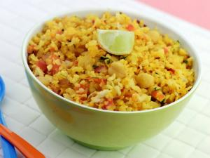 Power Poha by Tarla Dalal