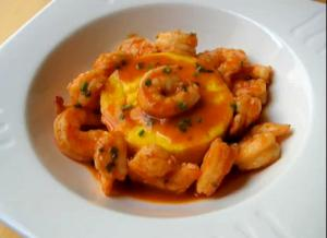 Spicy Southern Style Deviled Shrimp Ragu
