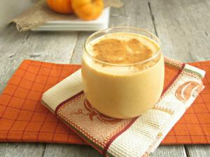October Nutri-Bite : Banana & Pumpkin Smoothie