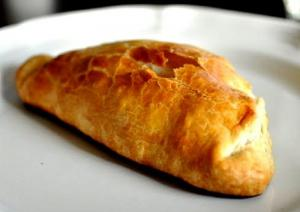 Golden Meat filled Turnovers
