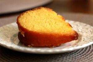 Apricot Wine Cake