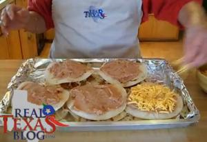 Mexican Torta Sandwich with Cheese - Part 4 - Meat Mixture and Cheese Layer