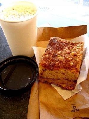 Cinnamon Date Coffee Cake