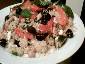Couscous and Chicken Salad
