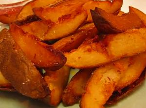 Deep Fried Potato Wedges