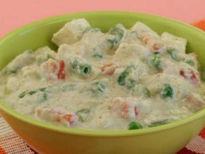 Paneer and Vegetables in Khus Khus Gravy by Tarla Dalal