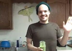 Green Vanilla Bean Shake