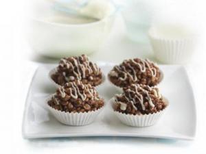 Chocolate Nut Tassies