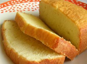 Sesame Honey Pound Cake