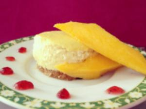 How to Bake Mango Cheesecake