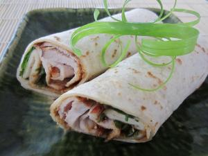 Hoisin Pork Wraps