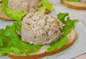 Tuna-Cucumber Mousse