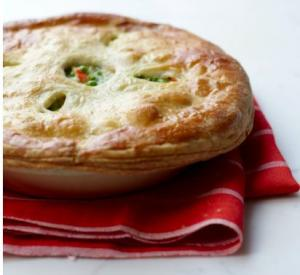 Spring Vegetable Chicken Pot Pie